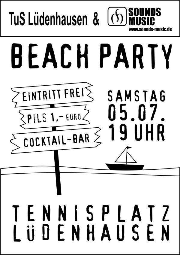 Beach Party 5. Juli 2008