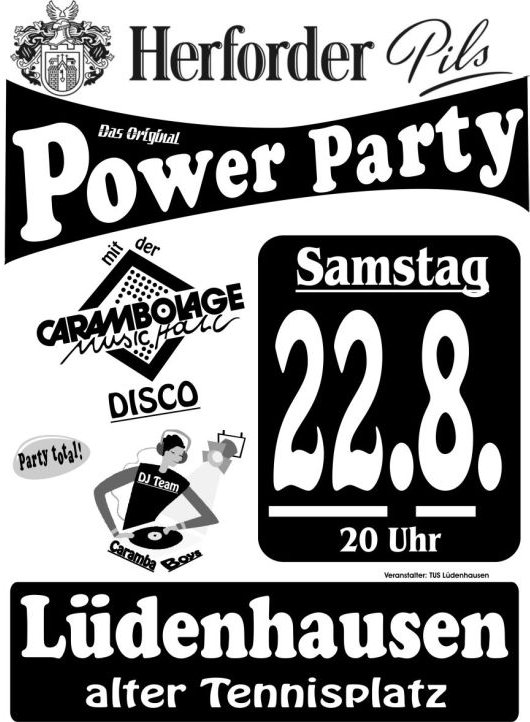 Herforder Pils Power Party