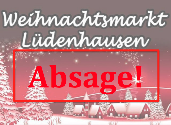 Absage Weihnachtsmarkt