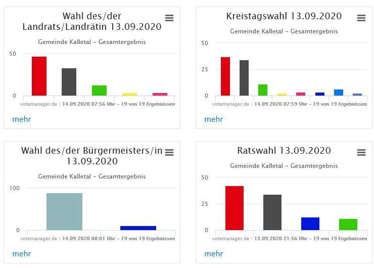 Ergebnisse Kommunalwahl 2020