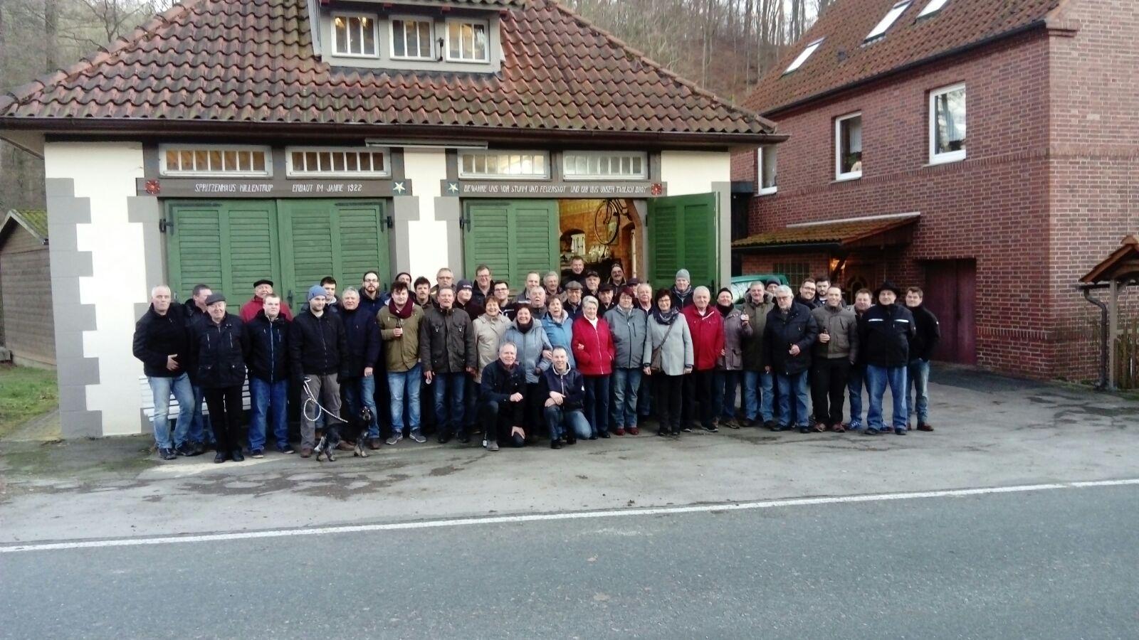 Lüdenhauser Schützen wandern