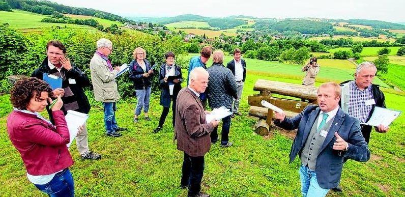 Unser Dorf hat Zukunft – Kommission im Kalletal