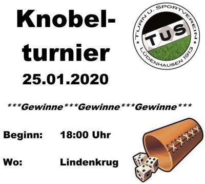 TuS Knobel-Turnier 25.01.2020