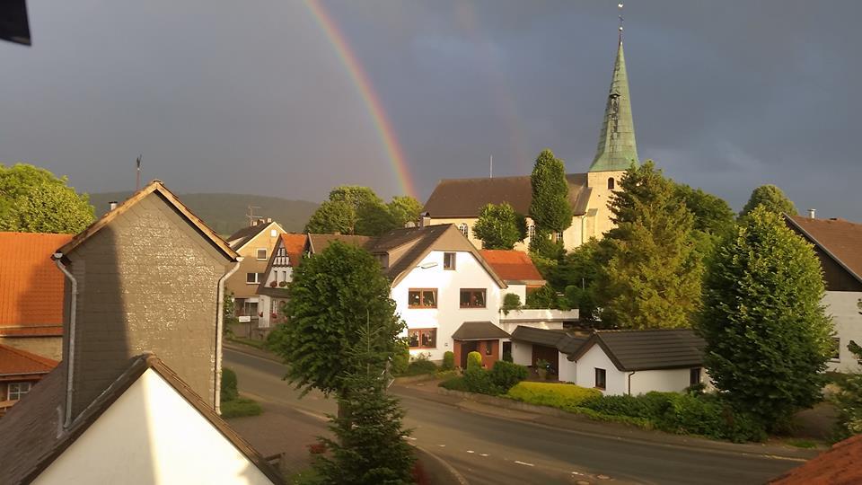 Regenbogen in Lüdenhausen