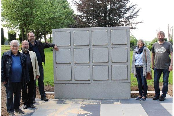 Erste Kolumbarien auf dem Lüdenhauser Friedhof